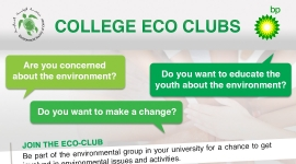 START YOUR COLLEGE ECO CLUB!